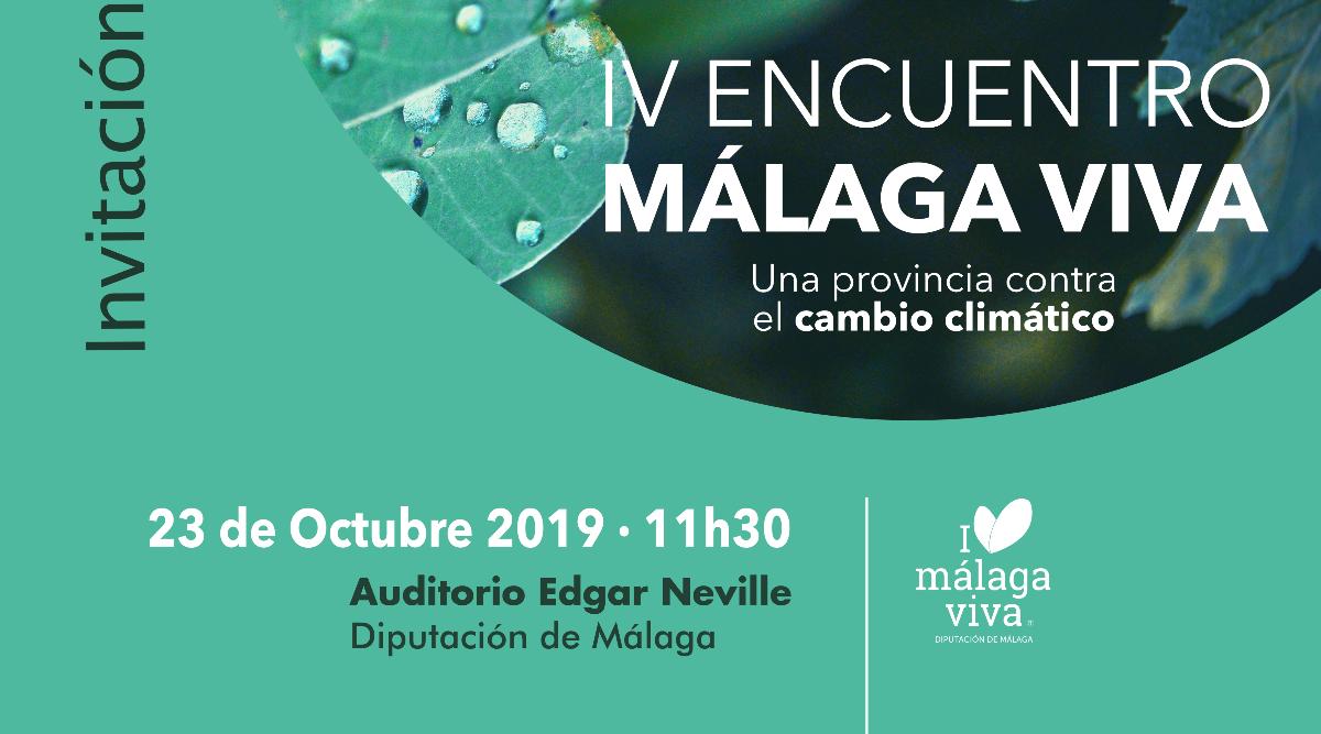 Emergencia climática en el IV Encuentro Málaga Viva